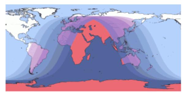 Decrement of secondary gamma radiation flux during lunar eclipse June 16, 2011